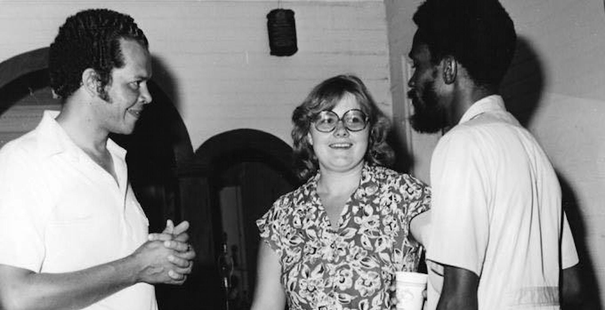 Erna Solberg leder av OD i 1979