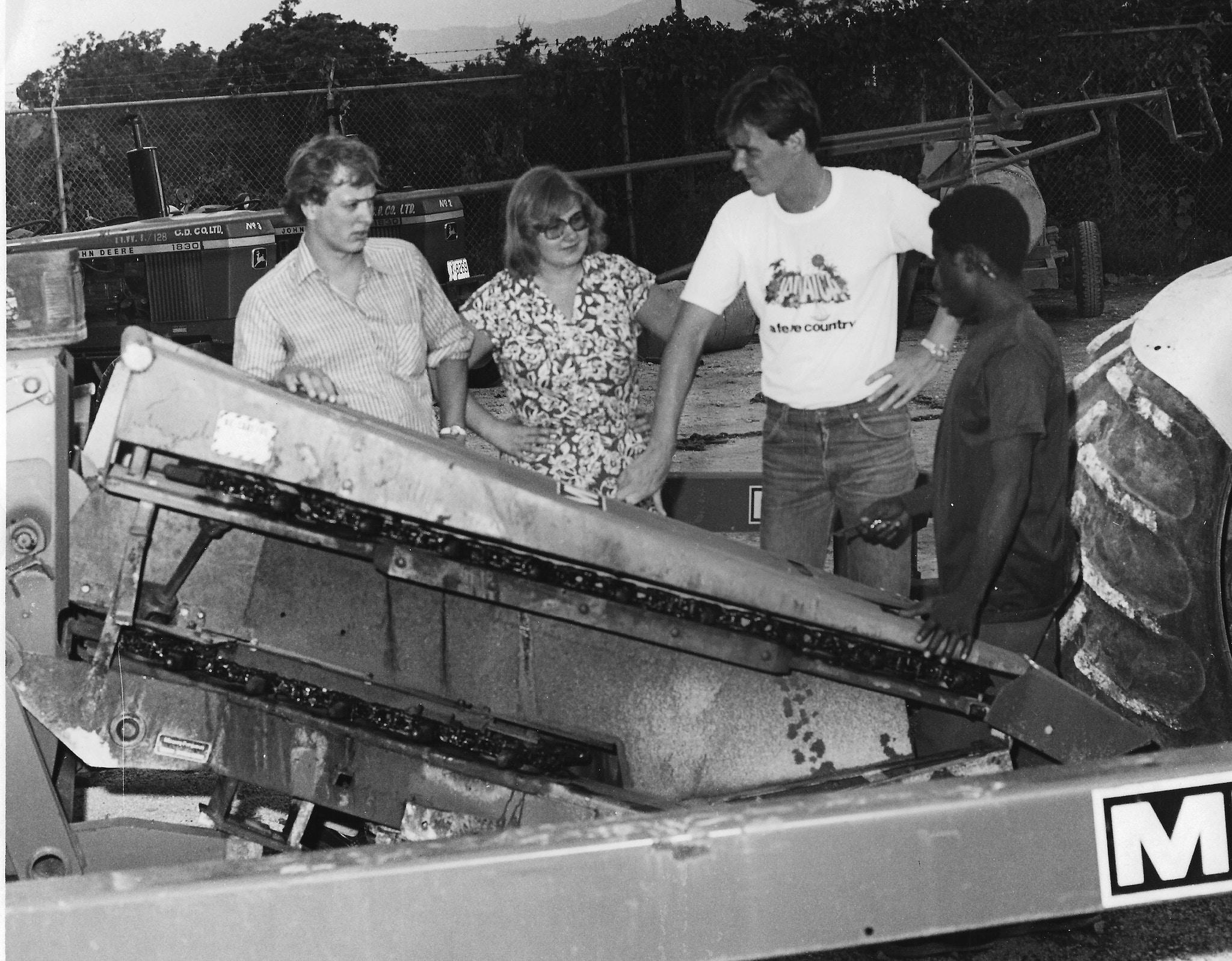 Erna Solberg Jamaica 1979 OD