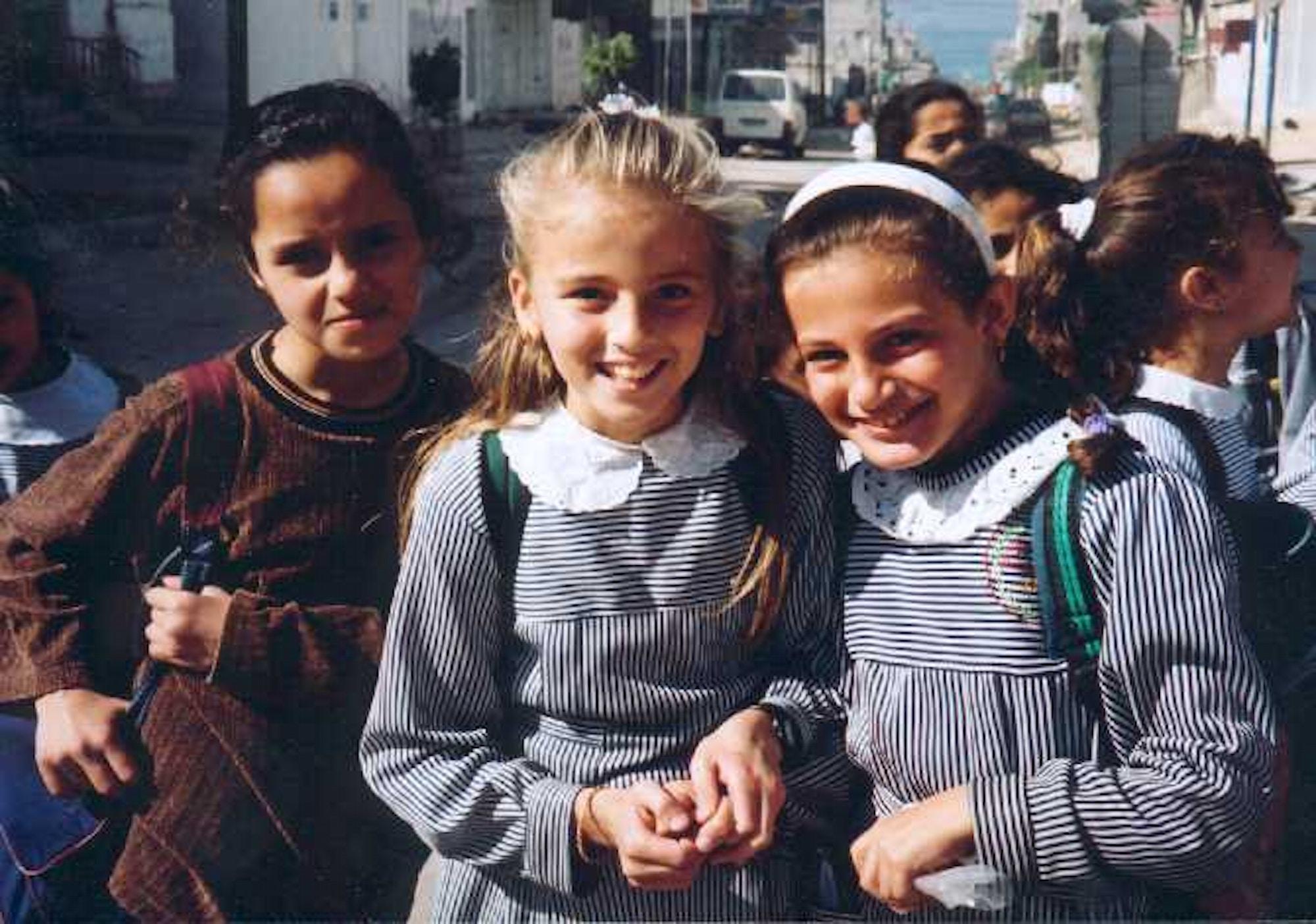 OD Gaza 3skolejenter99