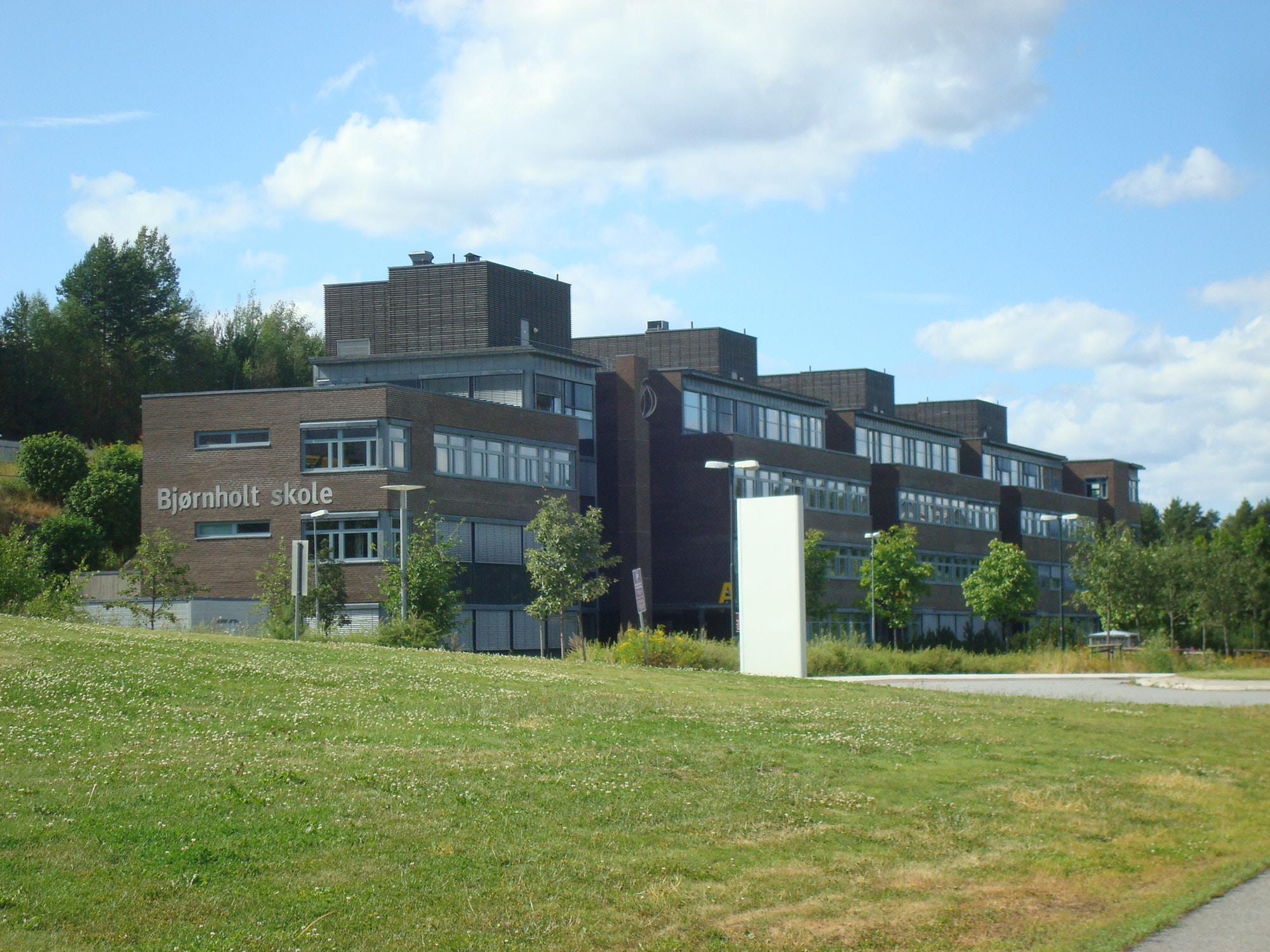 Bjornholt skole stor